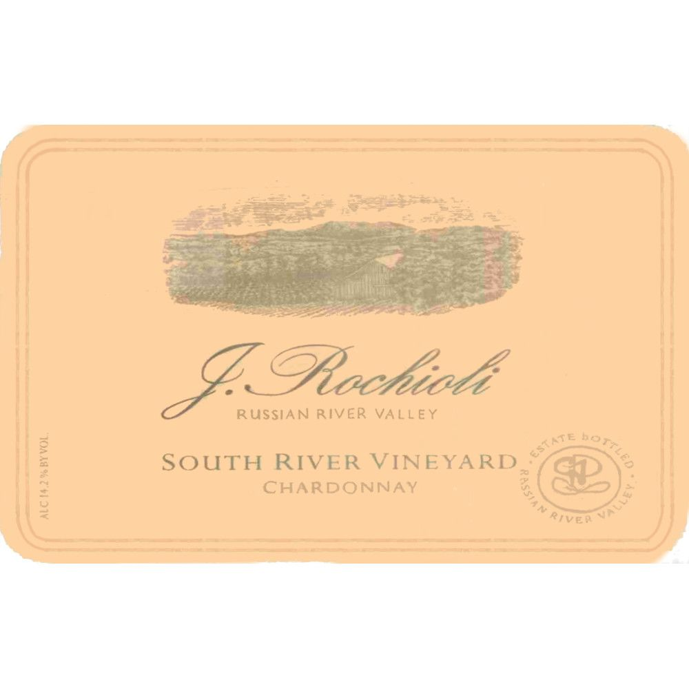 Rochioli South River Vineyard Chardonnay 2009 Front Label
