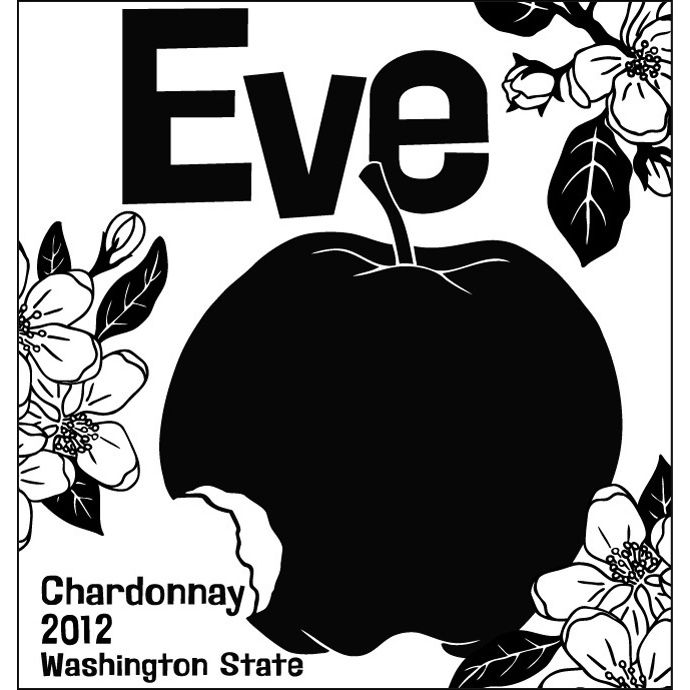 Charles Smith Wines Eve Chardonnay 2012 Front Label