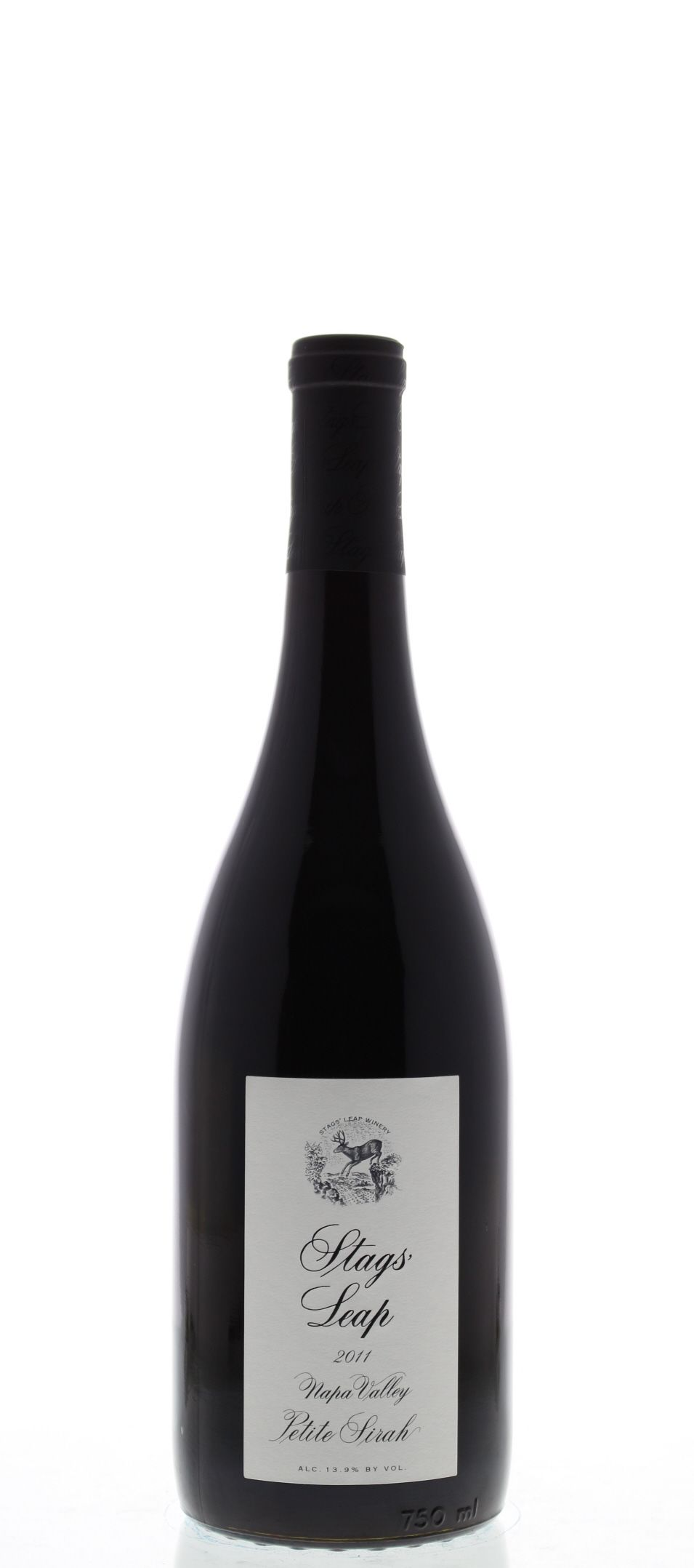 Stags' Leap Winery Petite Sirah 2011 Front Bottle Shot