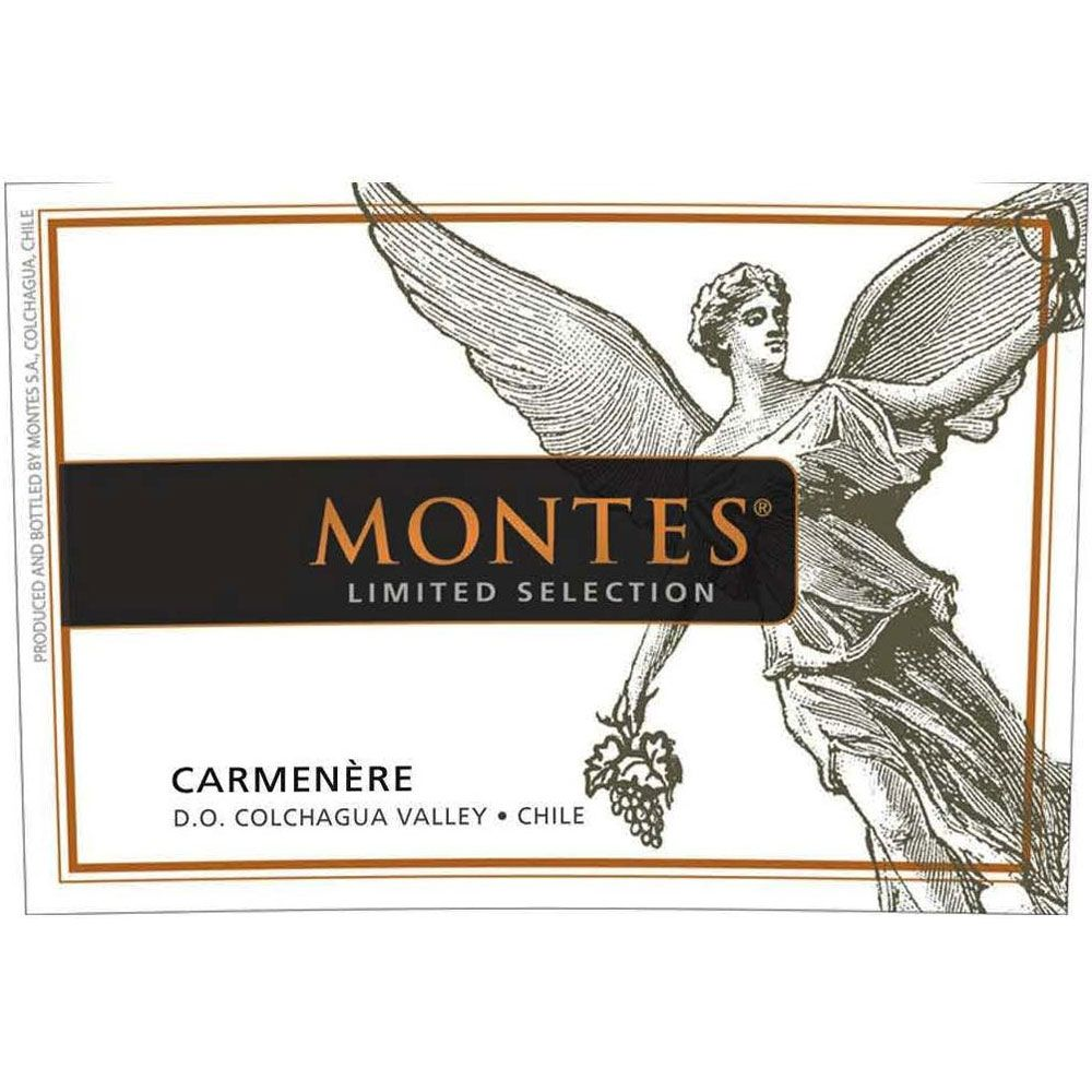 Montes Limited Selection Carmenere 2012 Front Label