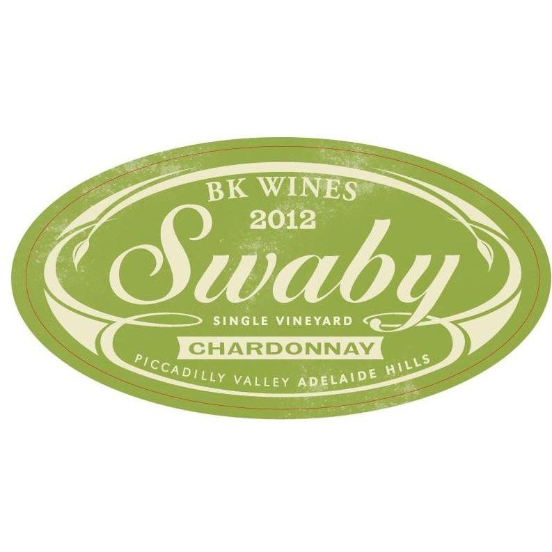 BK Wines Swaby Chardonnay 2012 Front Label