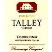 Talley Rosemary's Vineyard Chardonnay 2002 Front Label
