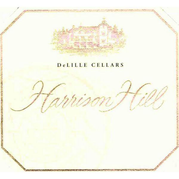 DeLille Harrison Hill Red 2001 Front Label