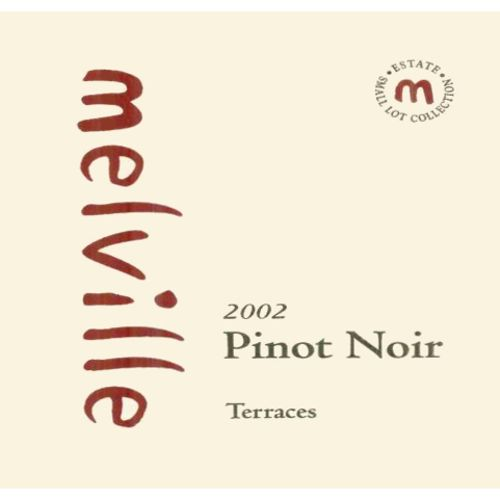 Melville Terraces Estate Pinot Noir 2002 Front Label