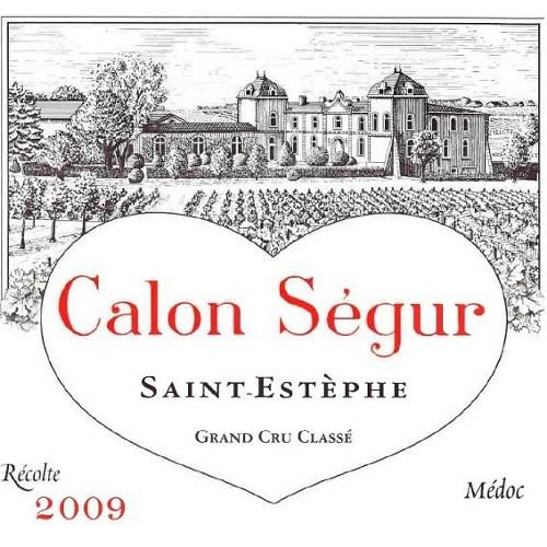 Chateau Calon-Segur (375ML half-bottle) 2009 Front Label