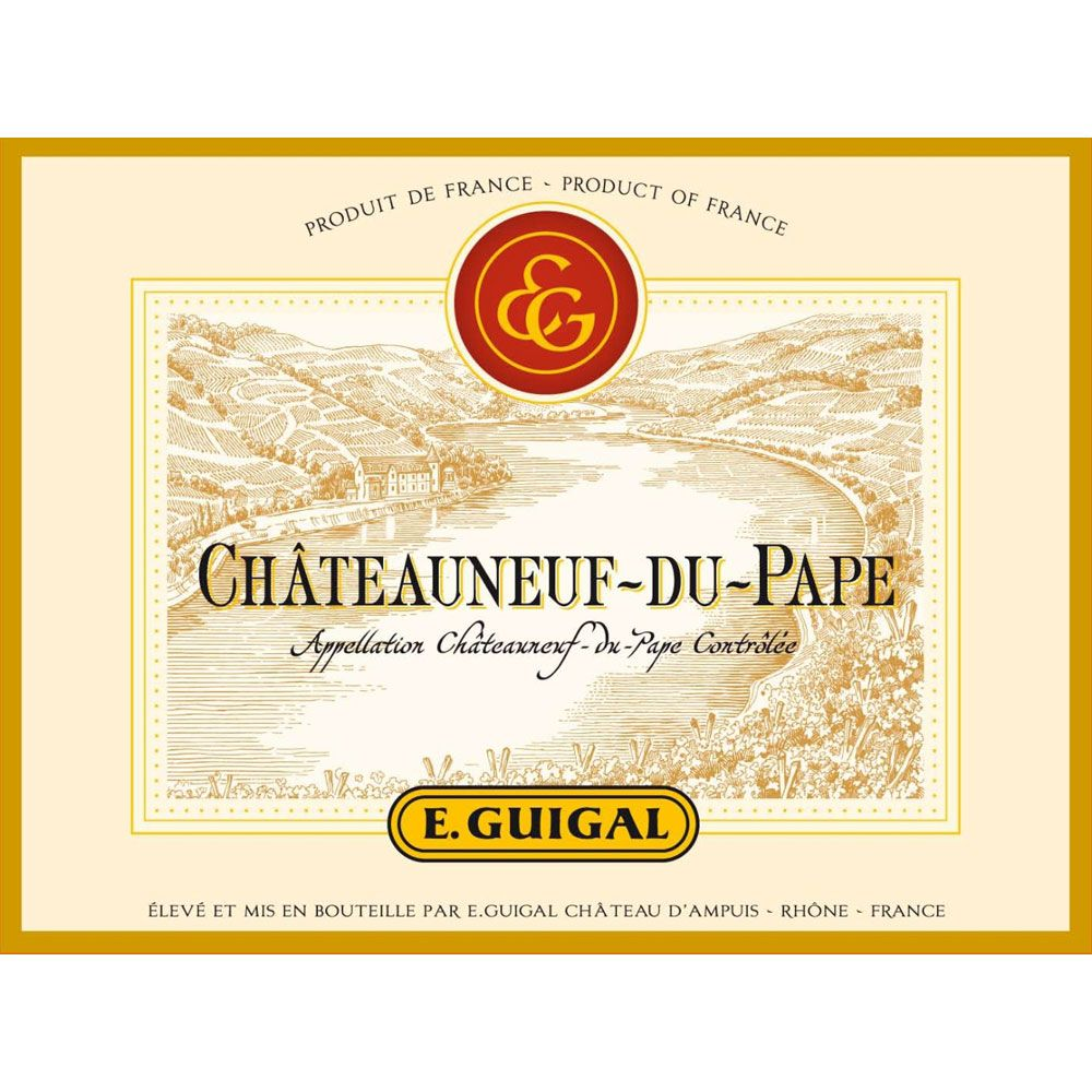 Guigal Chateauneuf-du-Pape (375ML half-bottle) 2007 Front Label