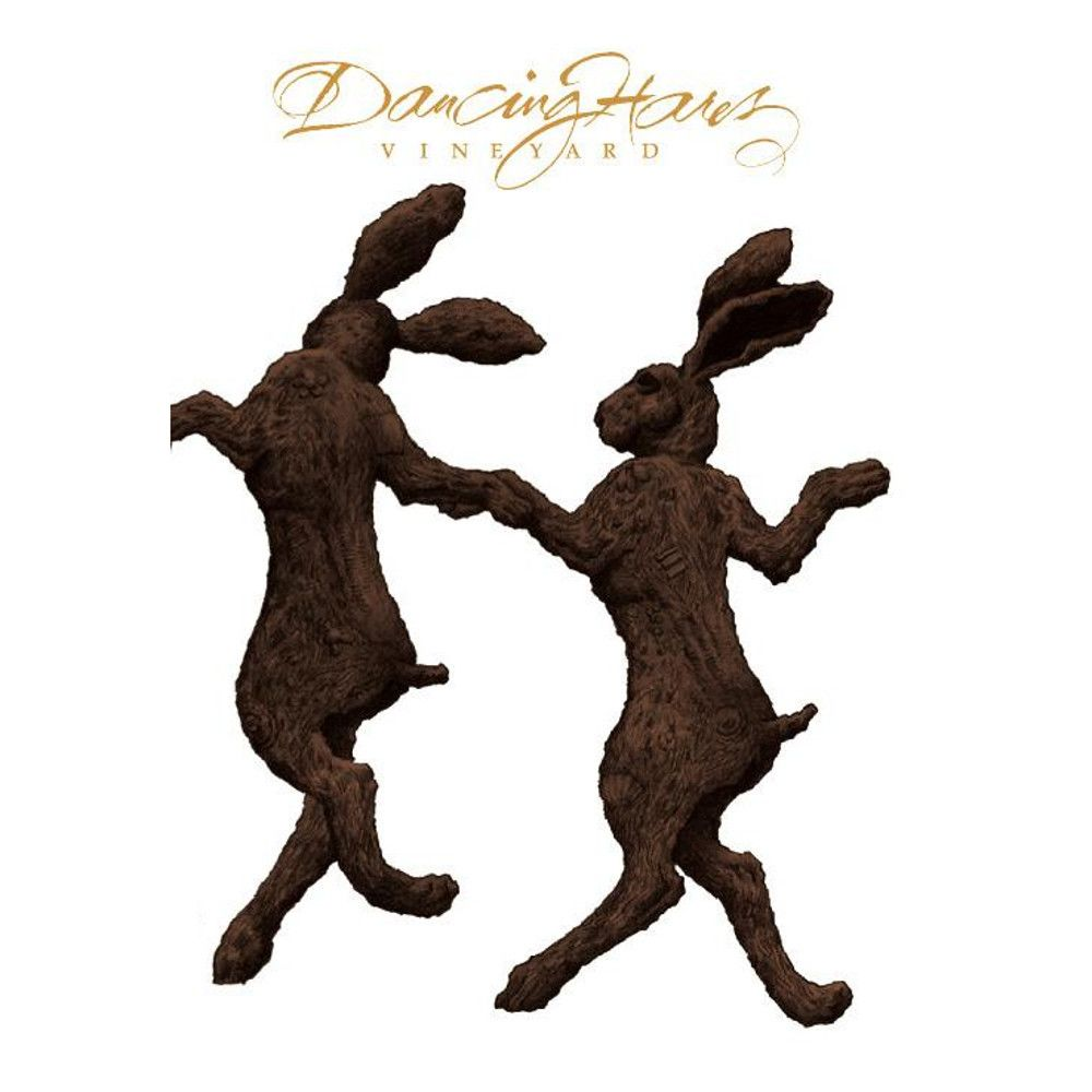 Dancing Hares  2010 Front Label