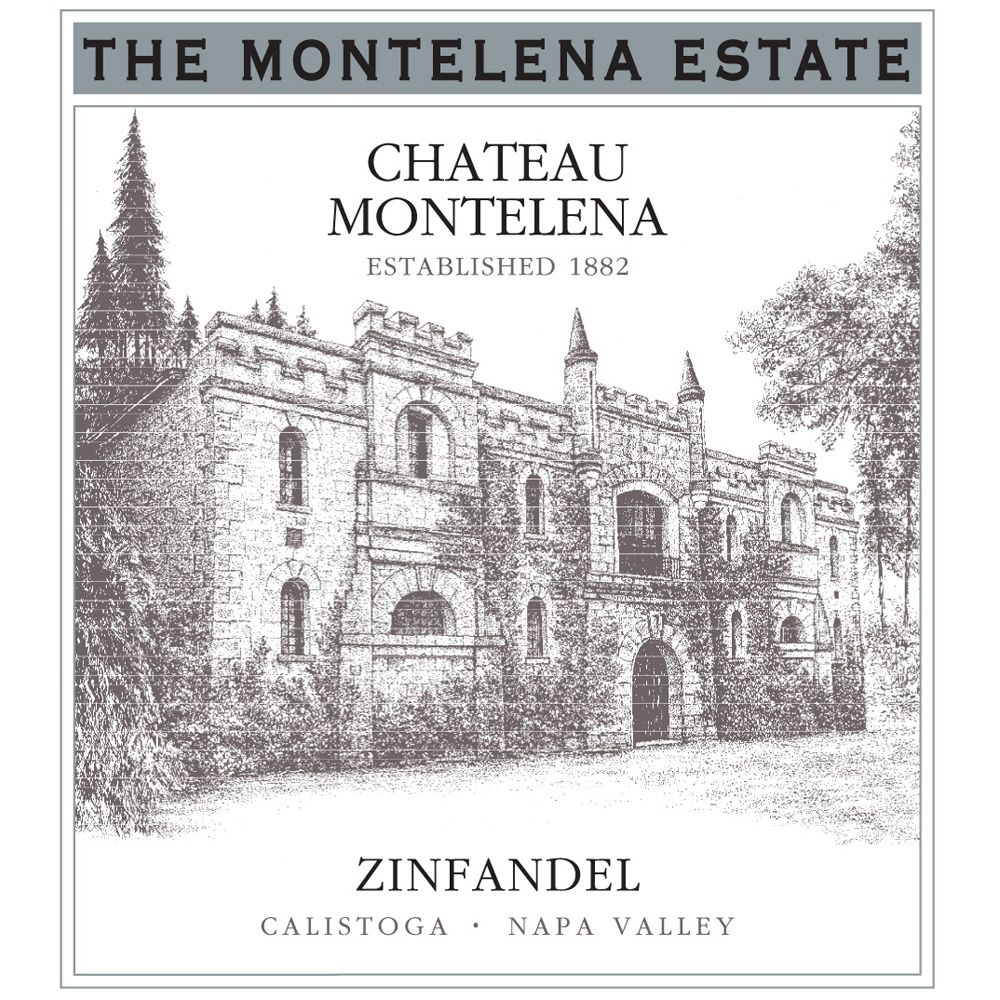Chateau Montelena Estate Zinfandel 2011 Front Label