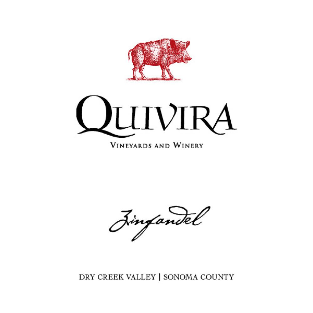 Quivira Dry Creek Valley Zinfandel 2012 Front Label