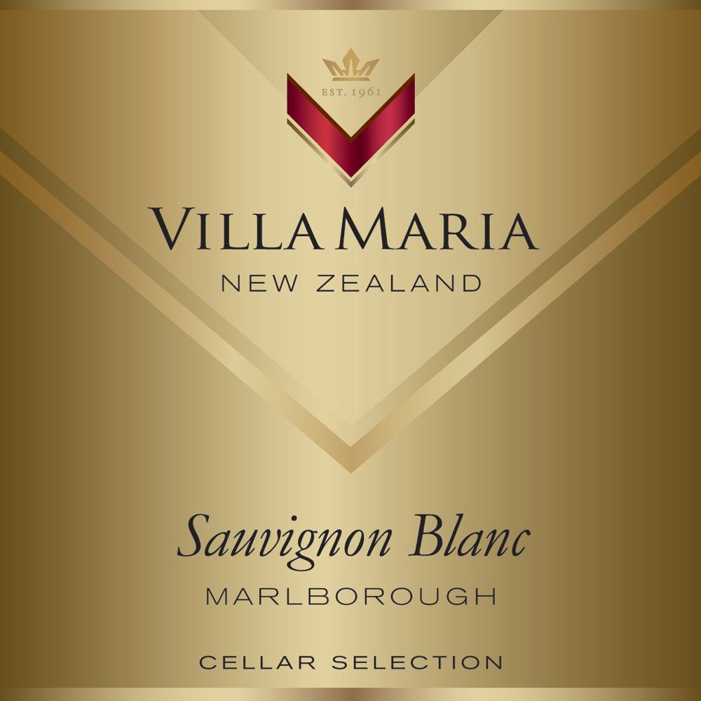 Villa Maria Cellar Selection Sauvignon Blanc 2013 Front Label