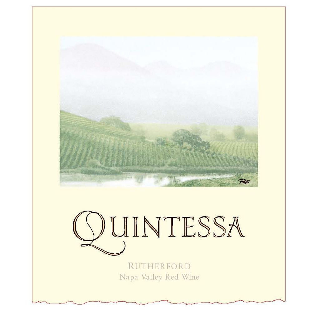 Quintessa (375ML half-bottle) 2007 Front Label