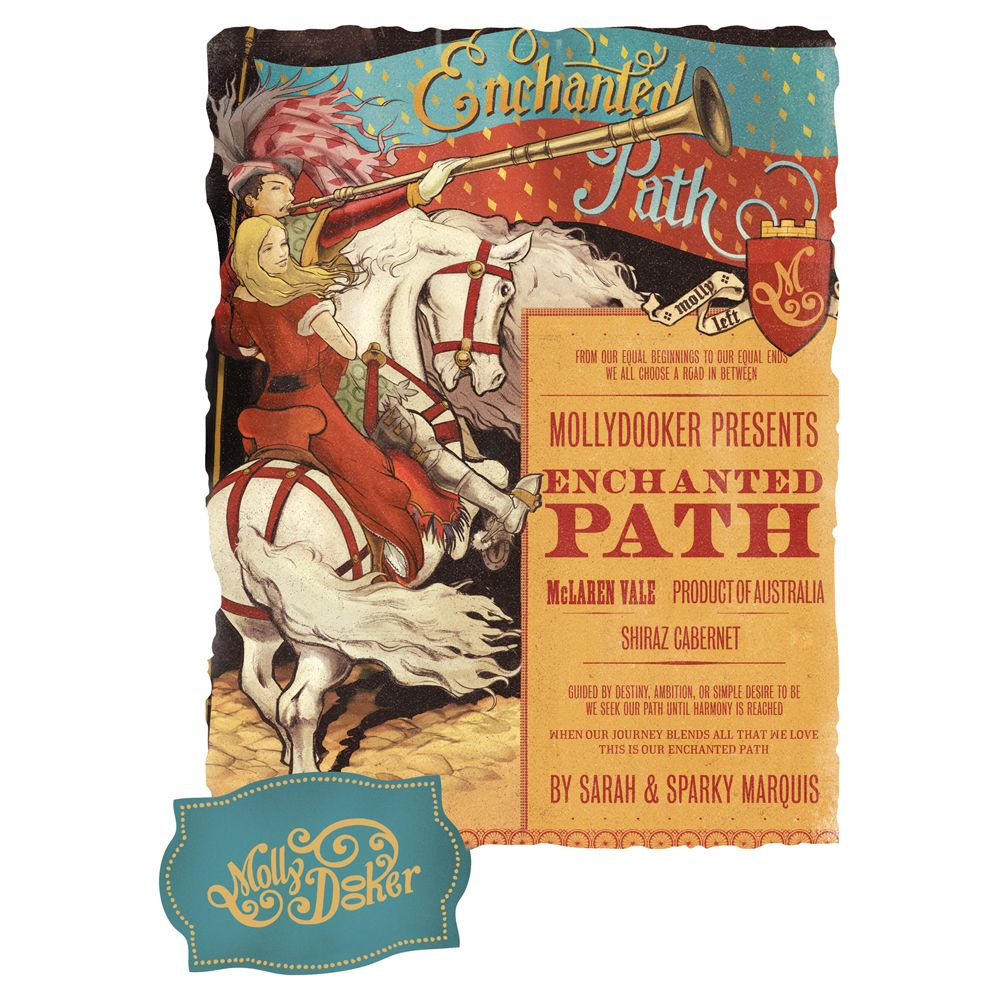 Mollydooker Enchanted Path 2012 Front Label