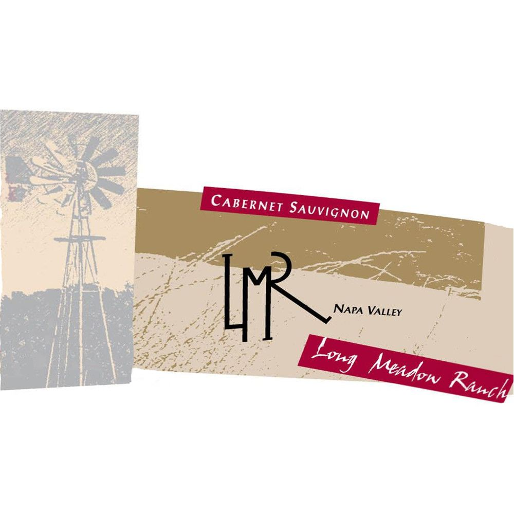 Long Meadow Ranch Cabernet Sauvignon 2009 Front Label
