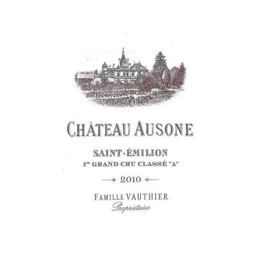 Chateau Ausone  2010 Front Label