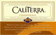 Caliterra Chardonnay 1998 Front Label