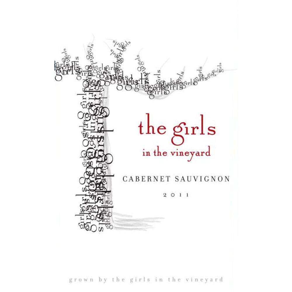 The Girls In The Vineyard Cabernet Sauvignon 2011 Front Label