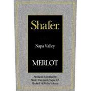 Shafer Napa Valley Merlot (1.5 Liter Magnum) 1991 Front Label
