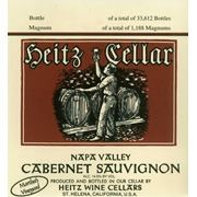 Heitz Cellar Fay Vineyard Cabernet Sauvignon 1975 Front Label