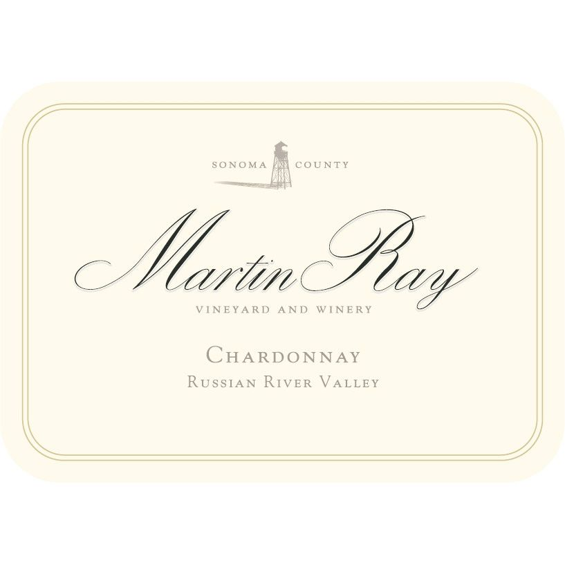 Martin Ray Russian River Valley Chardonnay (375ML half-bottle) 2013 Front Label
