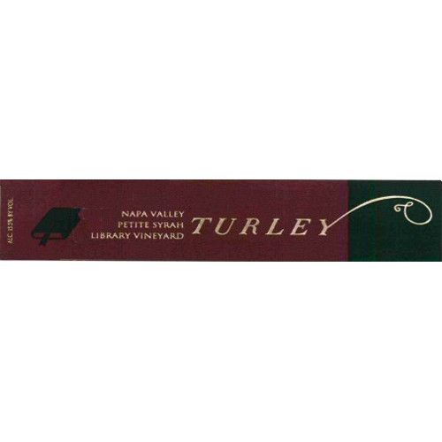 Turley Library Petite Syrah 2012 Front Label