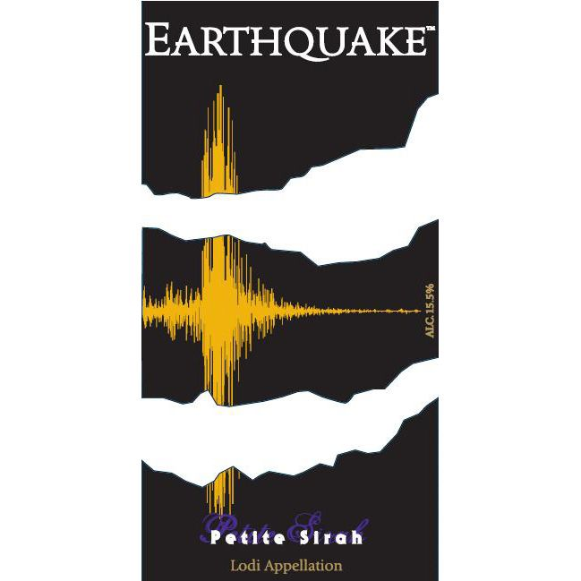 Michael David Winery Earthquake Petite Sirah 2012 Front Label