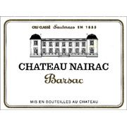 Nairac Sauternes (375ml half-bottle) 2001 Front Label