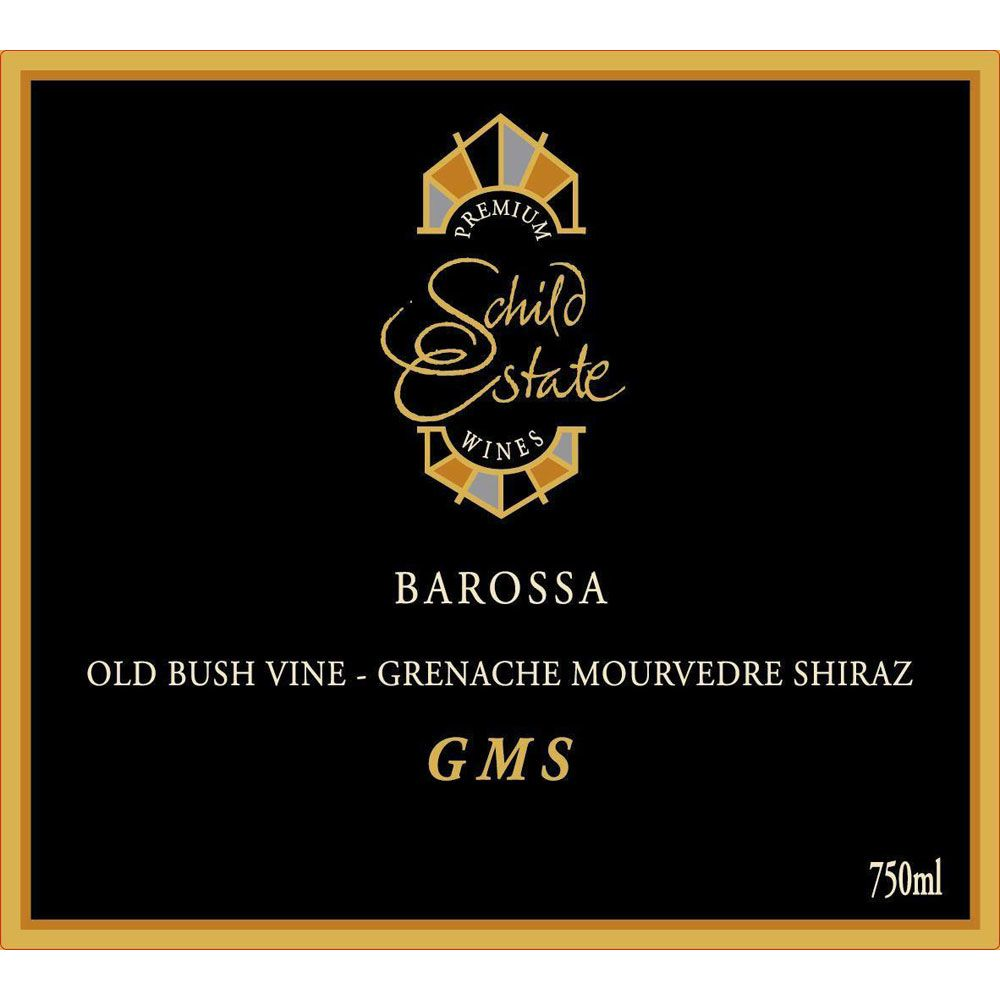 Schild Estate Barossa Estate GMS 2012 Front Label