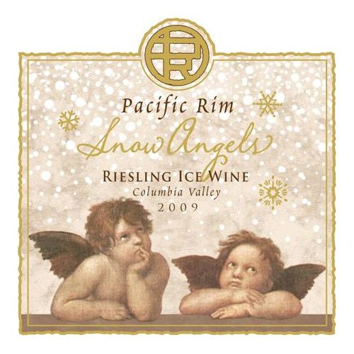Pacific Rim Snow Angels Ice Wine 2009 Front Label