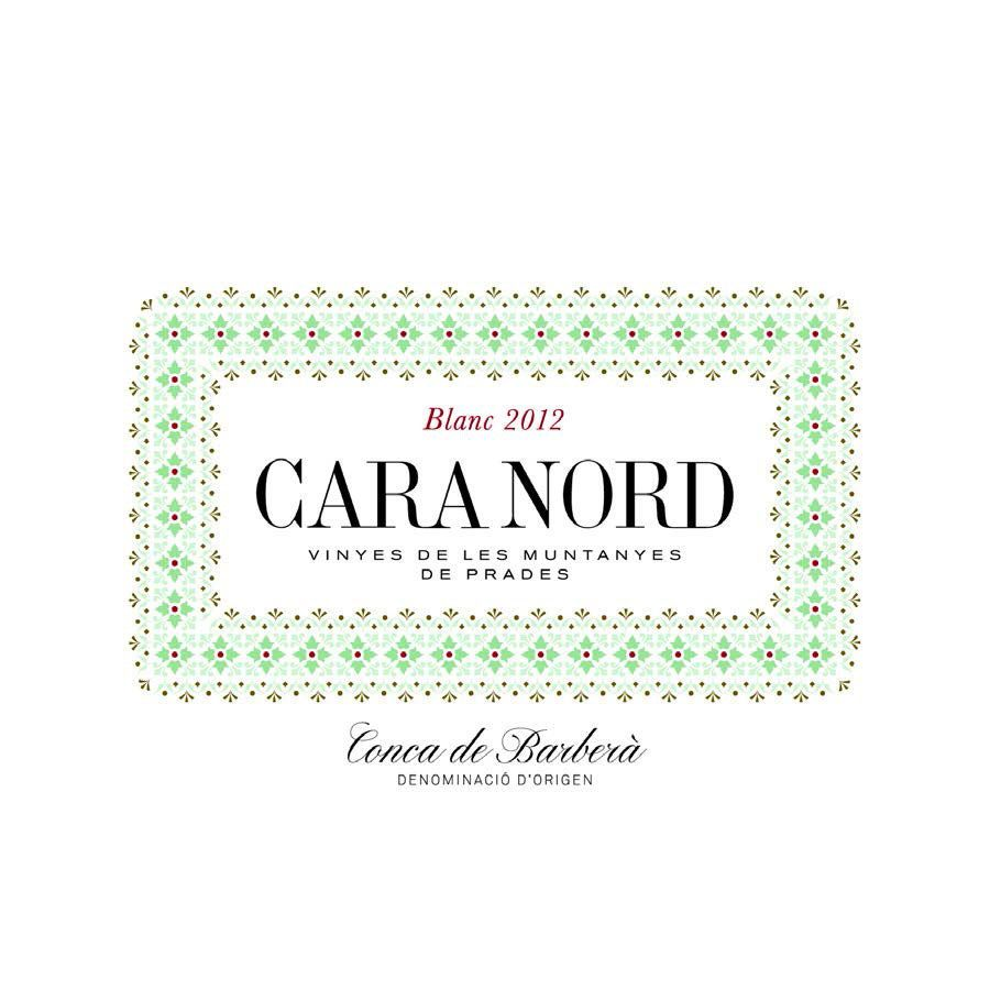 Cara Nord Blanc 2012 Front Label