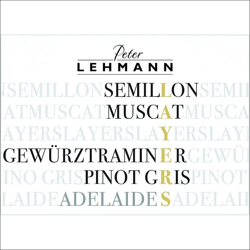 Peter Lehmann Layers White 2012 Front Label