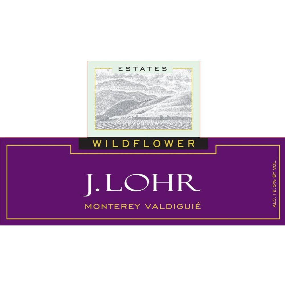 J. Lohr Wildflower Valdiguie 2013 Front Label