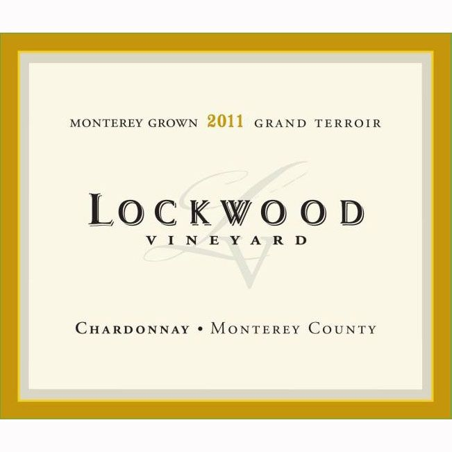 Lockwood Monterey County Chardonnay 2011 Front Label