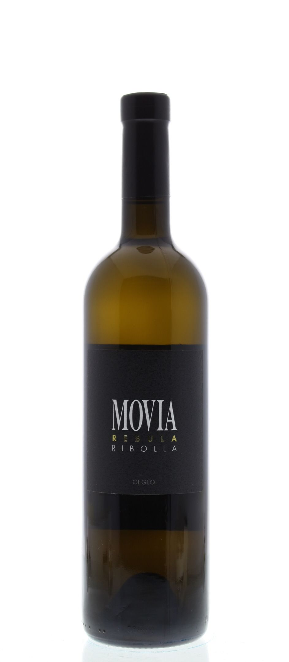 Movia Ribolla 2011 Front Bottle Shot