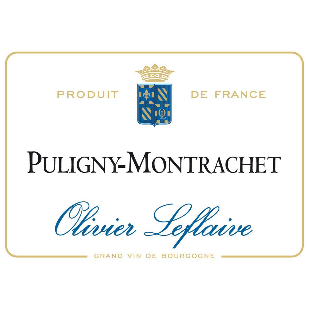 Olivier Leflaive Puligny Montrachet 2012 Front Label
