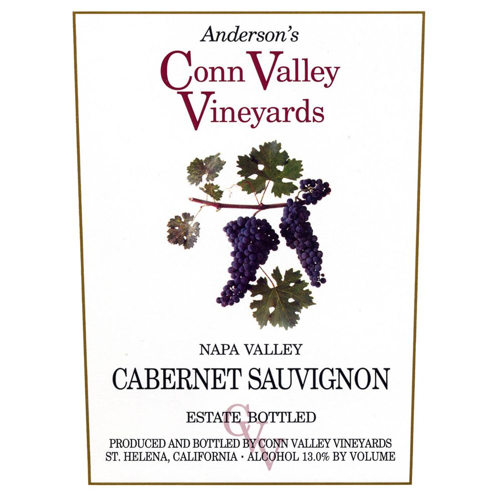 Anderson's Conn Valley Vineyards Cabernet Sauvignon Reserve (1.5 Liter Magnum) 2002 Front Label