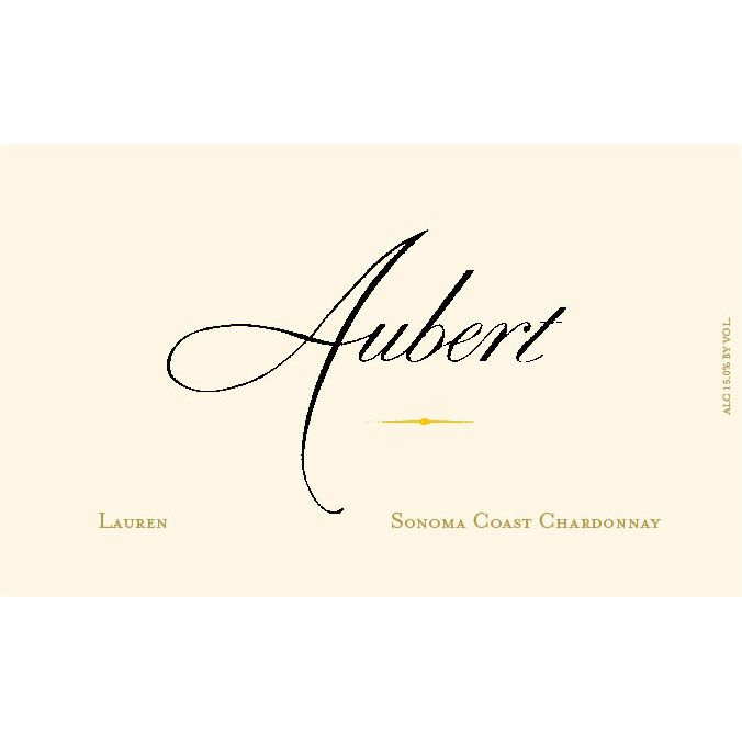 Aubert Lauren Vineyard Chardonnay 2005 Front Label