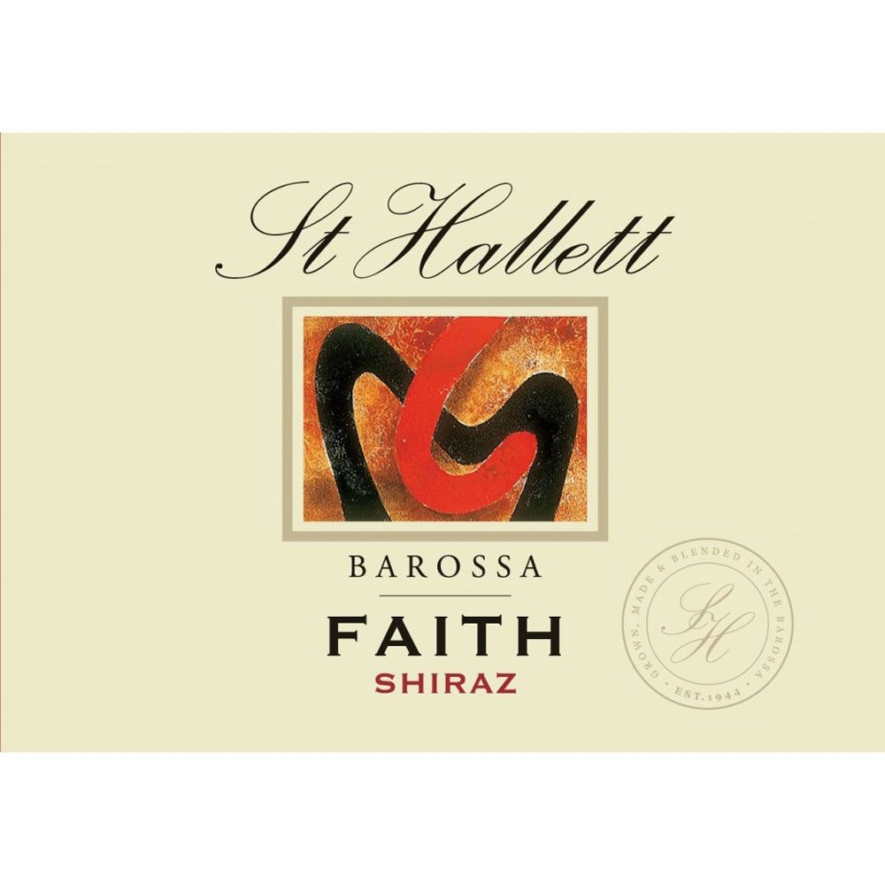 St Hallett Faith Shiraz 2013 Front Label