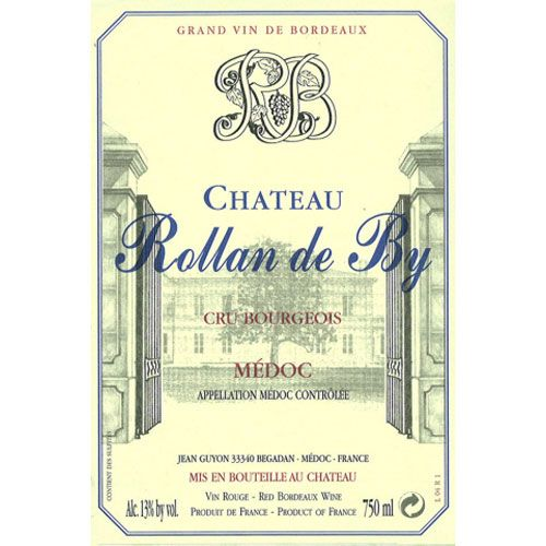 Chateau Rollan de By  2009 Front Label