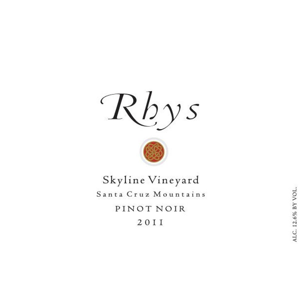 Rhys Vineyards Skyline Vineyard Pinot Noir 2011 Front Label