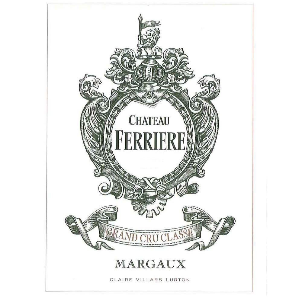 Ferriere  2005 Front Label
