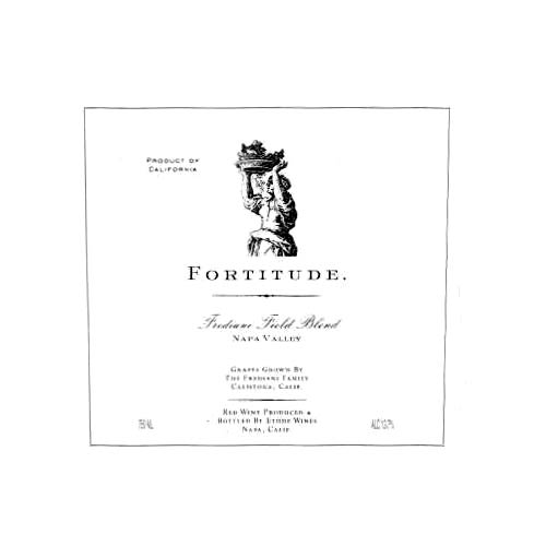 Etude Fortitude Frediani Field Blend 2005 Front Label