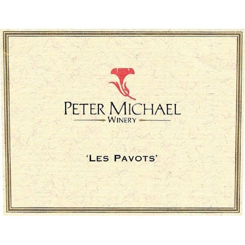 Peter Michael Les Pavots 1995 Front Label