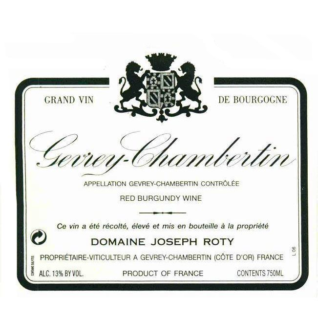 Domaine Joseph Roty Gevrey-Chambertin Les Fontenys 2008 Front Label