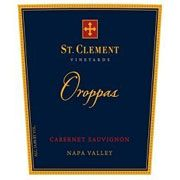 St. Clement Oroppas (3 Liter - signs of seapage) 1996 Front Label