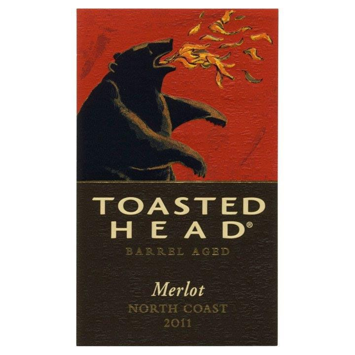 Toasted Head Merlot 2011 Front Label