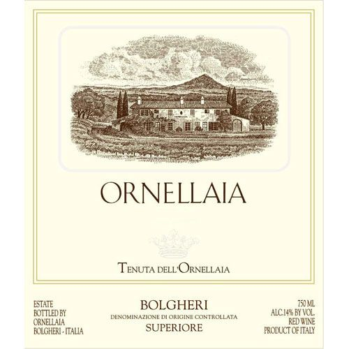 Ornellaia (3 Liter Bottle) 2006 Front Label