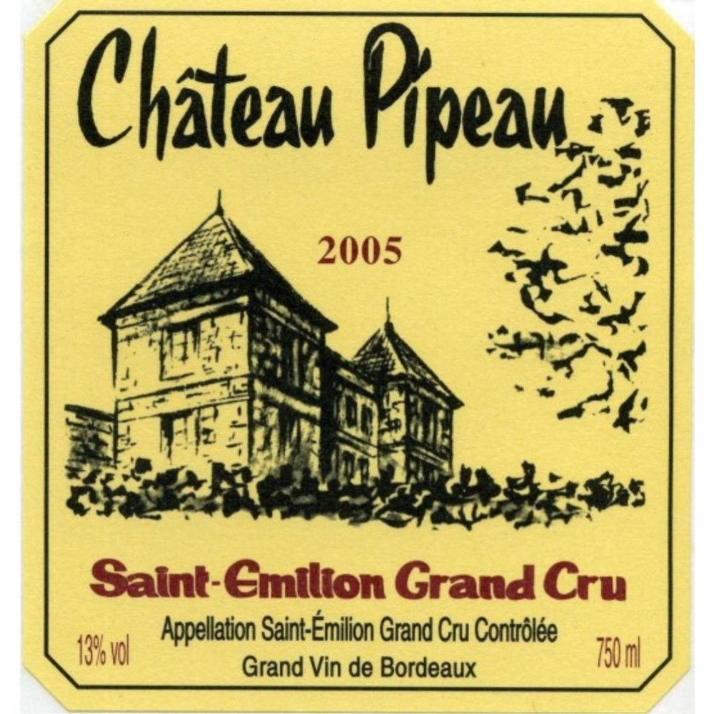 Chateau Pipeau (1.5 Liter Magnum) 2005 Front Label