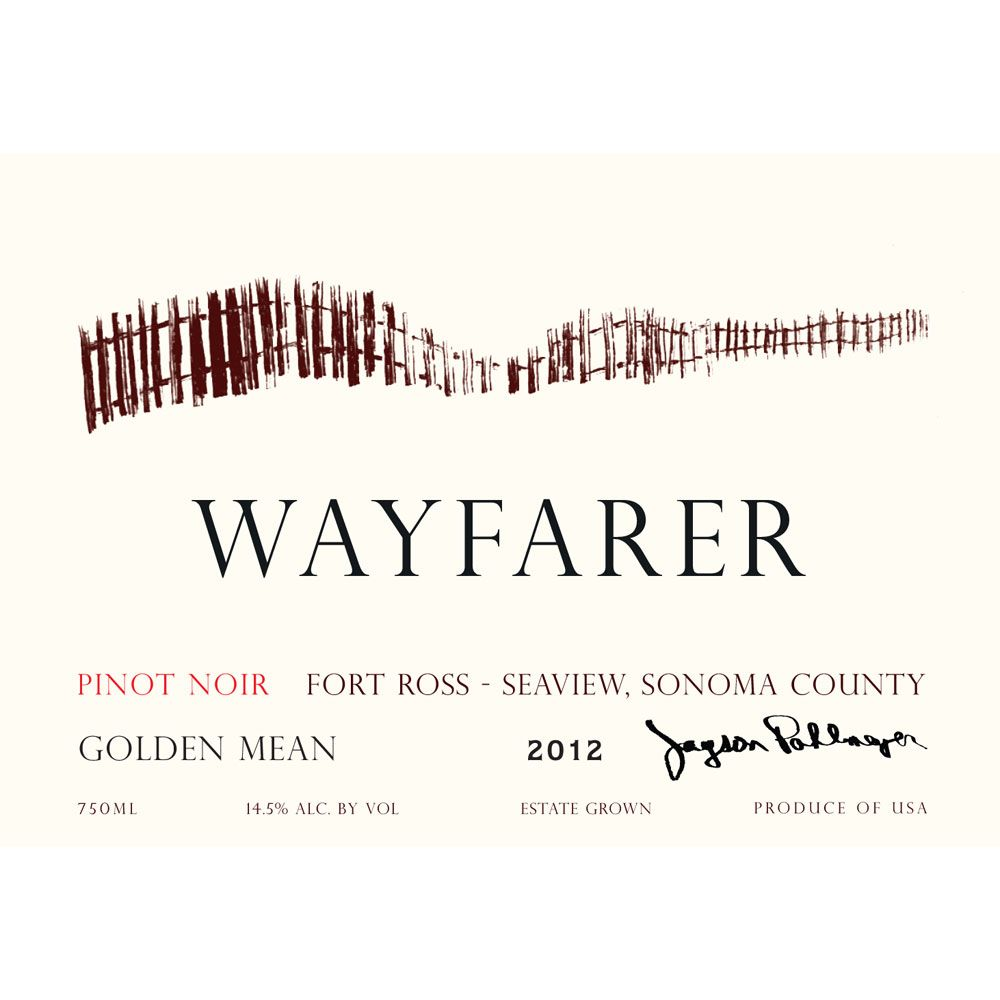 Wayfarer Golden Mean Pinot Noir 2012 Front Label