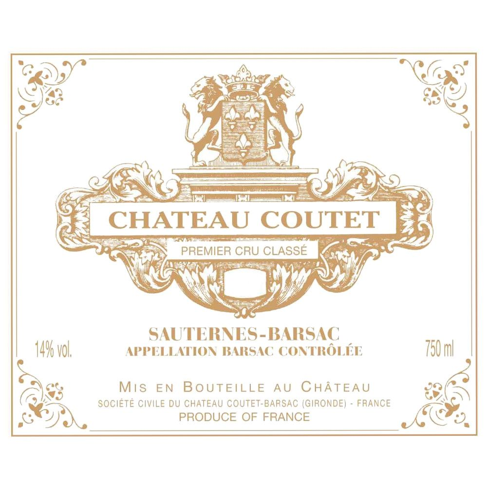 Chateau Coutet (375ML half-bottle) 2009 Front Label