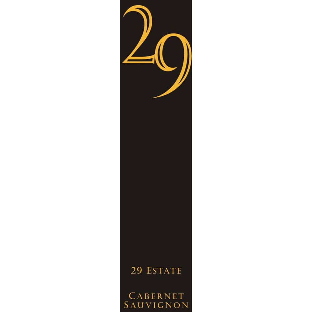 Vineyard 29 Cabernet Sauvignon 2007 Front Label